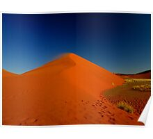 the red sand dune Poster