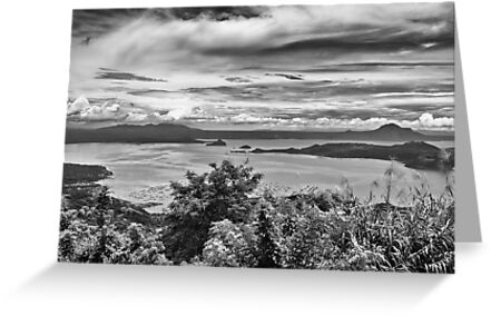 Taal Lake by RickyMoorePhoto