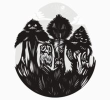 Spooky Woods Kids Tee