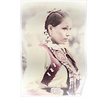 Native Beauty Poster