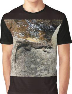 The Sunbaker, Minnamurra Falls, Australia. Graphic T-Shirt
