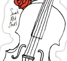Fiddle & Roses Sticker