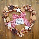 Lovely seasonal Greetings for Christmas by Barbara Neveu