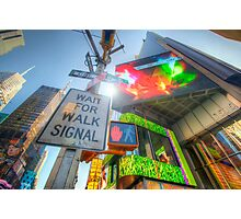 NYC Street Signs Photographic Print