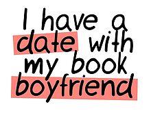BOOK BOYFRIEND DATE by aimeereads