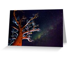 Reaching for the Milkyway Greeting Card