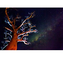 Reaching for the Milkyway Photographic Print