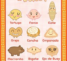Pan Dulce Pals by Andrea  Rosales