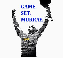 Game. Set. Murray. Unisex T-Shirt