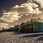 Beach Huts by Ian Hufton