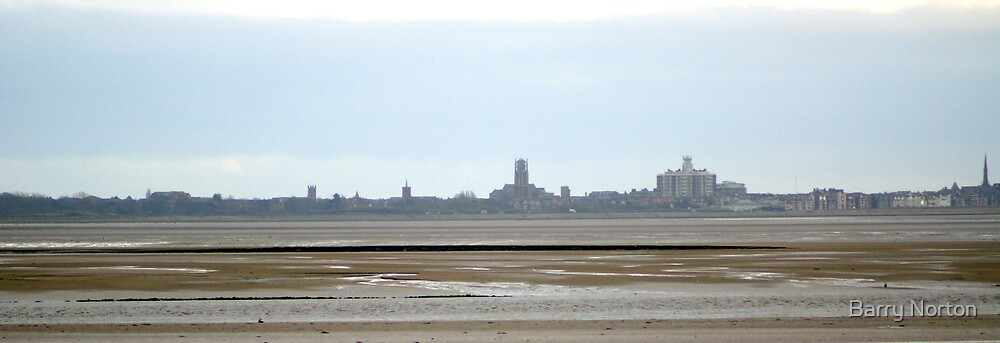 Southport from Granny's Bay by Barry Norton