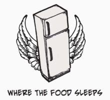 Where the food sleeps by FMSwish