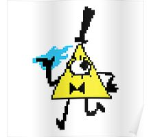 8 Bit Bill Cipher Poster