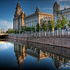 The &quot;Three Graces&quot; in Liverpool by NeilAlderney
