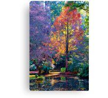 Fiery Foliage Canvas Print