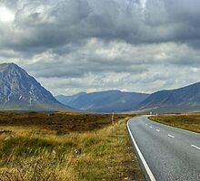 The Road To Glen Coe by Jamie  Green