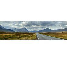 The Road To Glen Coe Photographic Print
