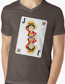 Luffy - One Piece Mens V-Neck T-Shirt