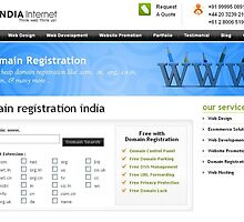 Find Reliable Domain Registration India with India Internet by allianceweb