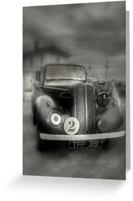 Hillman Minx  R.A.F. Staff car  by larry flewers