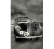 Hillman Minx  R.A.F. Staff car  Photographic Print