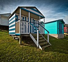 Beach Huts  by Geoff Carpenter