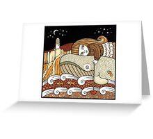 Brendas Bonnie Day (Bass Rock) Greeting Card
