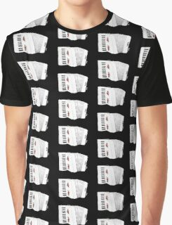 Accordion & Roses Graphic T-Shirt