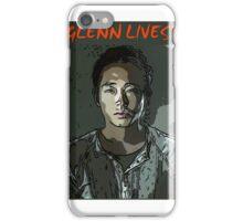 Glenn Lives! iPhone Case/Skin