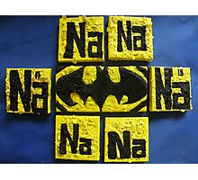BATMANS BREAKFAST - BATMAN: 8 EGG'S NO1 Photographic Print