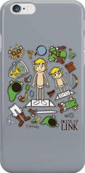 Dress up Link by Scott Weston