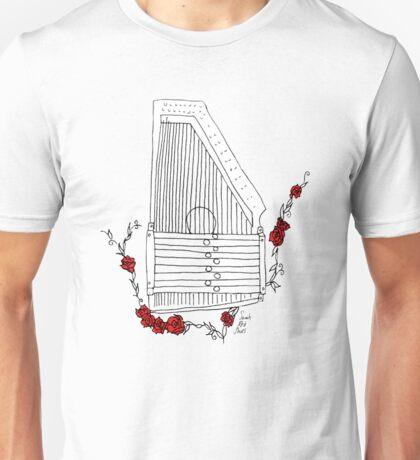Autoharp & Roses Unisex T-Shirt