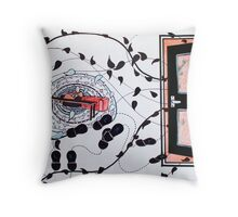 I was born in November Throw Pillow