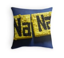 BATMANS BREAKFAST - BATMAN: 8 EGG'S NO8 Throw Pillow