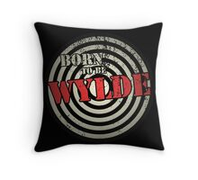 Born to be Wylde Throw Pillow