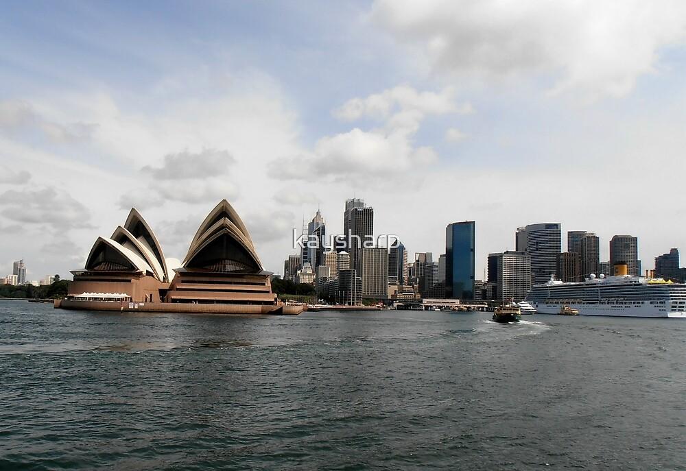 Stunning City of Sydney Skyline, Sydney, Australia. by kaysharp