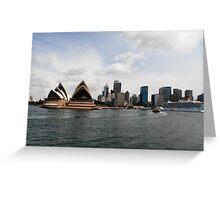 Stunning City of Sydney Skyline, Sydney, Australia. Greeting Card