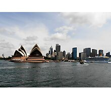 Stunning City of Sydney Skyline, Sydney, Australia. Photographic Print