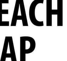 Coffee Teach Nap Repeat Sticker