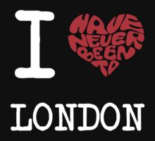 I Love London by FC Designs