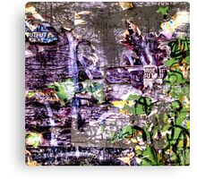 Garbage Collage Canvas Print