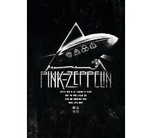 Pink Zeppelin Photographic Print