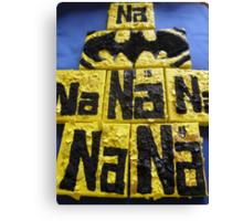 BATMANS BREAKFAST - BATMAN: 8 EGG'S NO17 Canvas Print