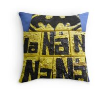 BATMANS BREAKFAST - BATMAN: 8 EGG'S NO17 Throw Pillow