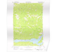 USGS Topo Map Washington State WA Rimrock Lake 243459 1967 24000 Poster