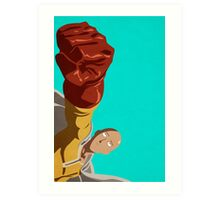 One Punch Man Poster Art Print