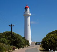 Aireys Inlet Light House by Leonie Morris