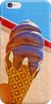 Ice Cream Cone by Gregory Dyer