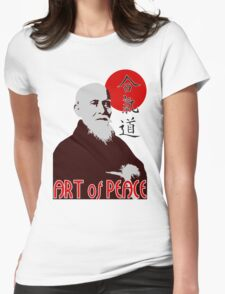 Art of Peace Womens Fitted T-Shirt