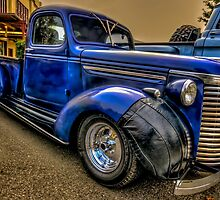 Blue Chevy Truck by Bassbro